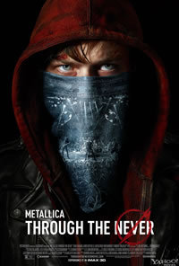 locandina del film METALLICA THROUGH THE NEVER