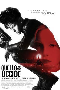 locandina del film MILLENNIUM - QUELLO CHE NON UCCIDE