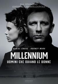 locandina del film MILLENNIUM - UOMINI CHE ODIANO LE DONNE