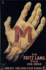 locandina del film M, IL MOSTRO DI DUSSELDORF