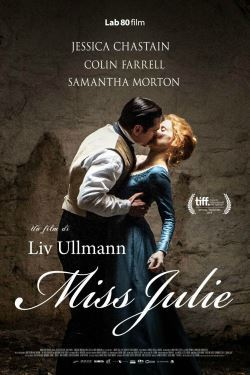 locandina del film MISS JULIE (2015)