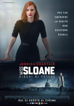 locandina del film MISS SLOANE