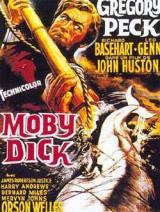 locandina del film MOBY DICK, LA BALENA BIANCA