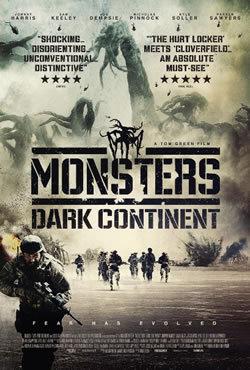 locandina del film MONSTERS: DARK CONTINENT