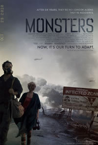 locandina del film MONSTERS (2010)