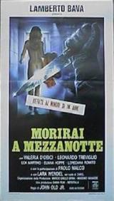 locandina del film MORIRAI A MEZZANOTTE