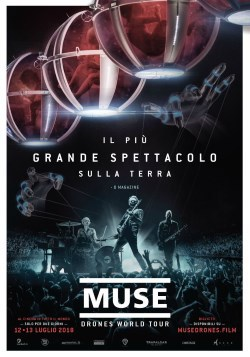 locandina del film MUSE: DRONES WORLD TOUR