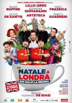 locandina del film NATALE A LONDRA - DIO SALVI LA REGINA