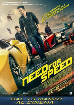 locandina del film NEED FOR SPEED