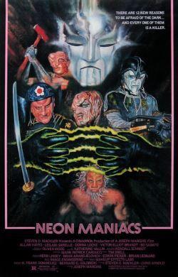 locandina del film NEON MANIACS