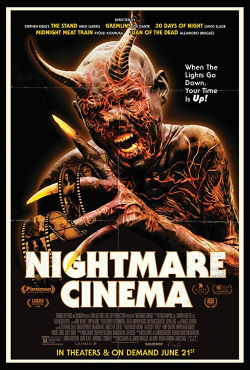 locandina del film NIGHTMARE CINEMA