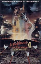 locandina del film NIGHTMARE 4 - IL NON RISVEGLIO