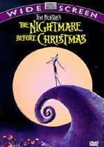 locandina del film NIGHTMARE BEFORE CHRISTMAS
