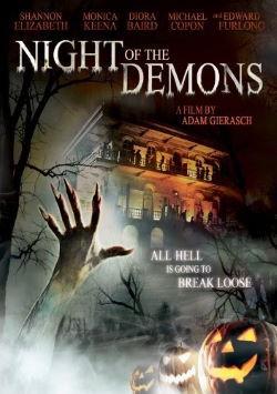 locandina del film NIGHT OF THE DEMONS (2009)