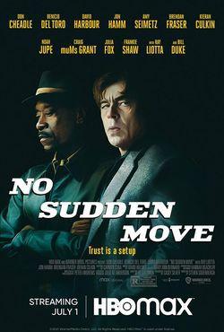 locandina del film NO SUDDEN MOVE