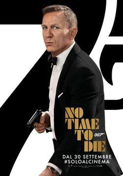 locandina del film NO TIME TO DIE