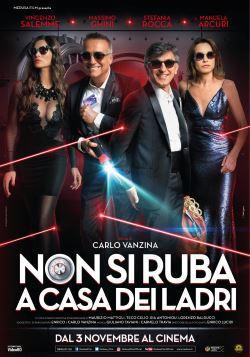 locandina del film NON SI RUBA A CASA DEI LADRI