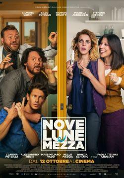 locandina del film NOVE LUNE E MEZZA