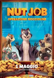 locandina del film NUT JOB - OPERAZIONE NOCCIOLINE