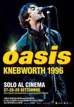 locandina del film OASIS: KNEBWORTH 1996