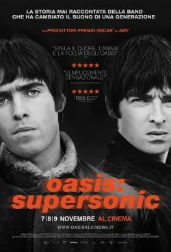locandina del film OASIS: SUPERSONIC