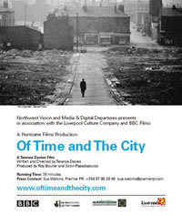 locandina del film OF TIME AND THE CITY