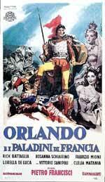 locandina del film ORLANDO E I PALADINI DI FRANCIA
