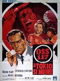 locandina del film OSS 117 A TOKYO SI MUORE