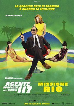 locandina del film AGENTE SPECIALE 117 AL SERVIZIO DELLA REPUBBLICA - MISSIONE RIO
