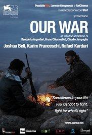 locandina del film OUR WAR