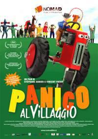 locandina del film PANICO AL VILLAGGIO