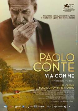 locandina del film PAOLO CONTE, VIA CON ME