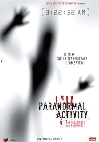 locandina del film PARANORMAL ACTIVITY