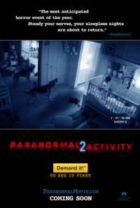 locandina del film PARANORMAL ACTIVITY 2
