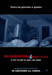 locandina del film PARANORMAL ACTIVITY 4