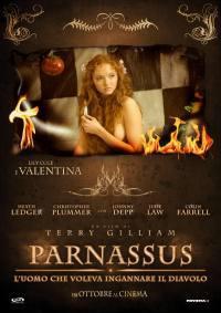 locandina del film PARNASSUS - L'UOMO CHE VOLEVA INGANNARE IL DIAVOLO