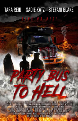 locandina del film PARTY BUS TO HELL