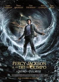 locandina del film PERCY JACKSON E GLI DEI DELL'OLIMPO - IL LADRO DI FULMINI