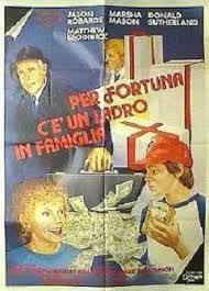 locandina del film PER FORTUNA C'E' UN LADRO IN FAMIGLIA
