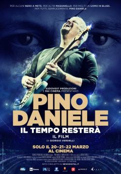 locandina del film PINO DANIELE - IL TEMPO RESTERA'