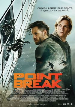 locandina del film POINT BREAK (2016)