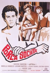 locandina del film PORCA SOCIETA'