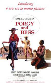 locandina del film PORGY AND BESS