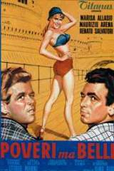 locandina del film POVERI MA BELLI