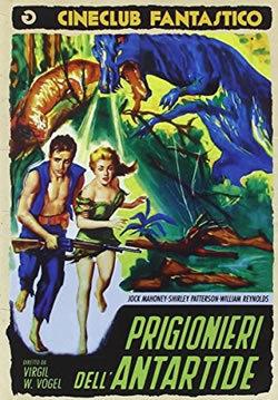 locandina del film PRIGIONIERI DELL'ANTARTIDE