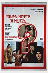locandina del film PRIMA NOTTE DI NOZZE