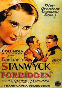 locandina del film PROIBITO (1932)
