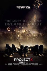 locandina del film PROJECT X - UNA FESTA CHE SPACCA