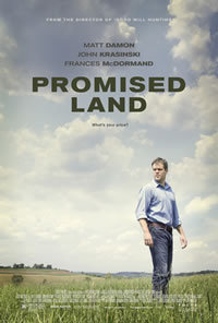 locandina del film PROMISED LAND (2013)