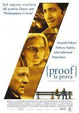 locandina del film PROOF - LA PROVA